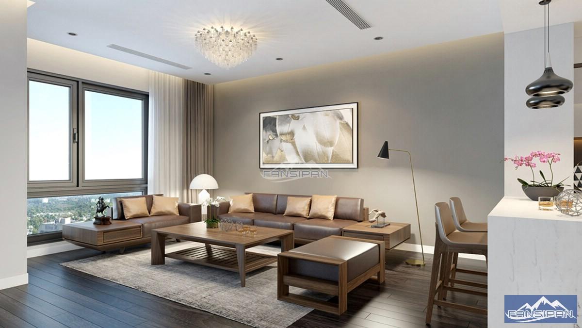 Bàn ghế sofa gỗ phòng khách BGF016