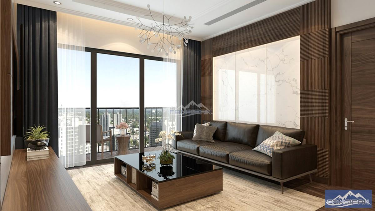 Bàn ghế sofa gỗ phòng khách BGF013