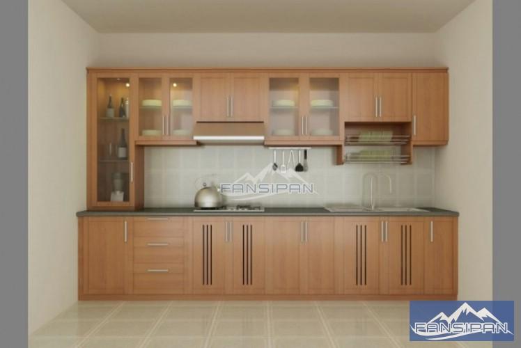 Tủ bếp hiện đại TBF001