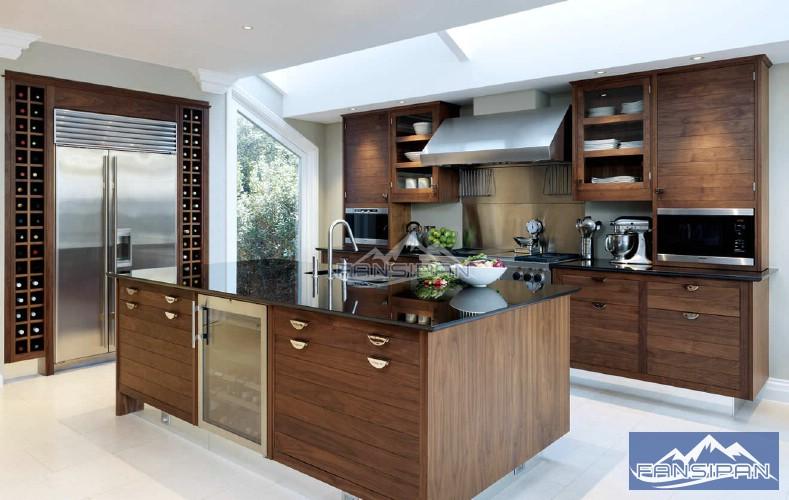 Tủ bếp hiện đại TBF002