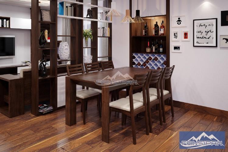Bộ bàn ghế ăn BAF005