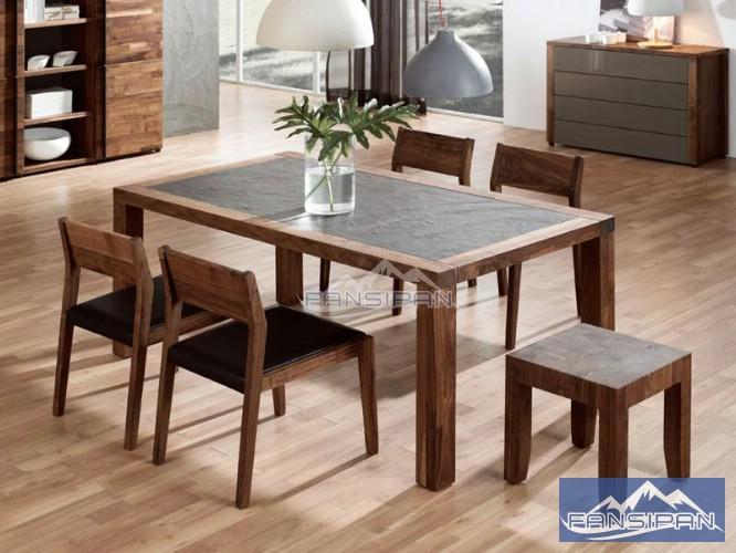 Bộ bàn ghế ăn BAF006