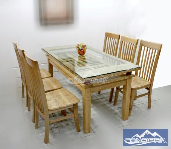 Bộ bàn ghế ăn BAF010