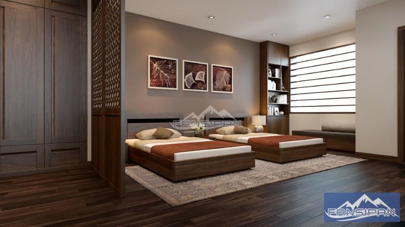 Giường ngủ, phòng ngủ đẹp GNF028